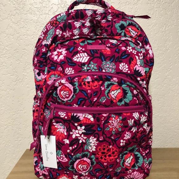 Vera Bradley Handbags - Vera Bradley Large Essential Backpack